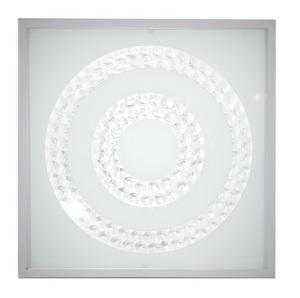 Plafoniera Lux Plafond 29X29 16W Led 6500K Satin Ring Double small 0