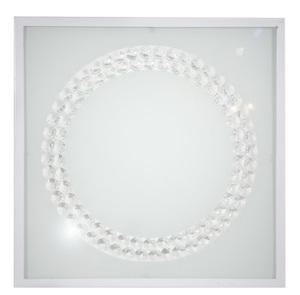 Plafoniera Lux Plafond 29X29 16W Led 4000K Inel mare alb small 0