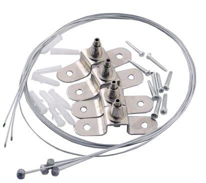 Cabluri de montare pentru panouri LED 1.2m