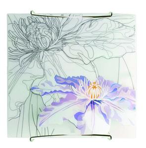 Lampă de tavan de primăvară Plafond 30X30 1X60W E27 Violet small 0