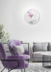 Lampă de tavan de primăvară Plafond 30 1X60W E27 Violet small 1