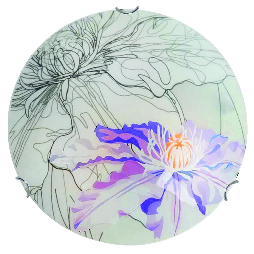 Lampă de tavan de primăvară Plafond 30 1X60W E27 Violet