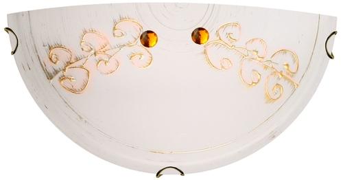 Plafoniera Asme Plafond 1/2 1X60W E27 Aur