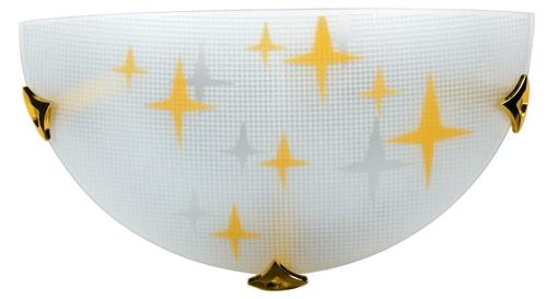 Lampă de tavan Stars Plafon1 / 2 1X60W E27 Ambra