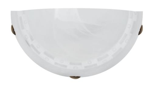 Plafoniera Milea Plafond 1/2 1X60W E27