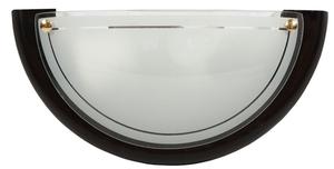1030 Plafoniera Plafond 1/2 Lemn Standard 1X60W E27 Wenge small 0