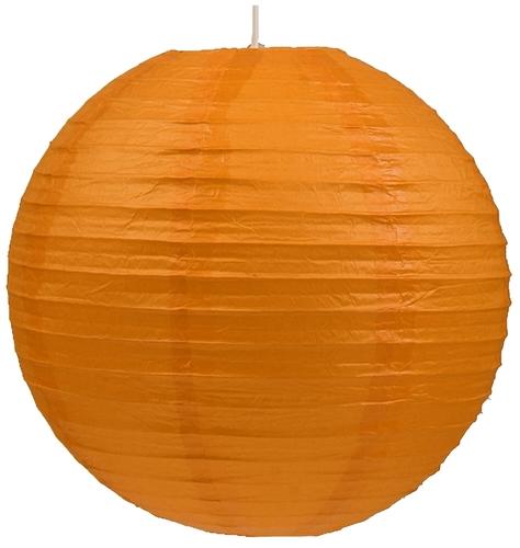 Abajur din hârtie-Cocoon Ball Ball 60 Orange