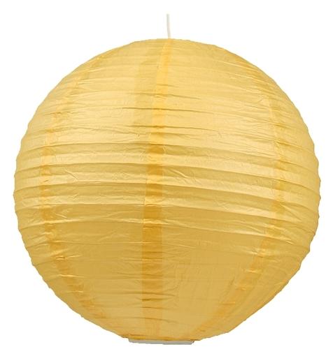 Abajur din hârtie-Cocoon Ball Ball 60 Galben