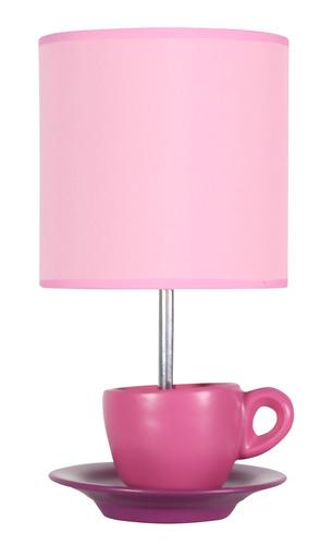 Lampă pentru dulap din zinc 1X60W E27 Roz
