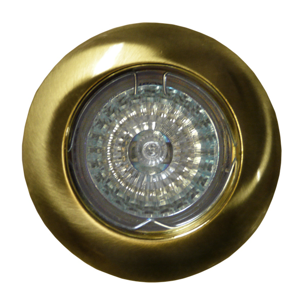 Spot mobil MR16 presat din aur lustruit