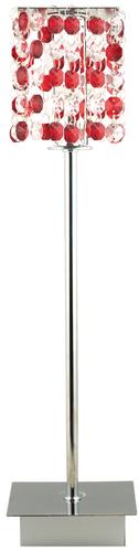Lampă clasică pentru dulap 1X40W G9 Roșu