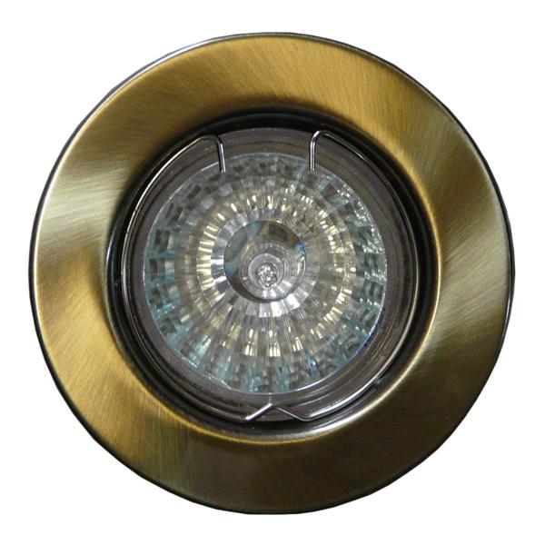 Spot Solid MR16 Gold Flat turnat
