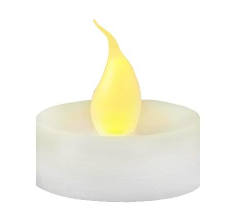 Lumânare decorativă LED flacără set 4 buc