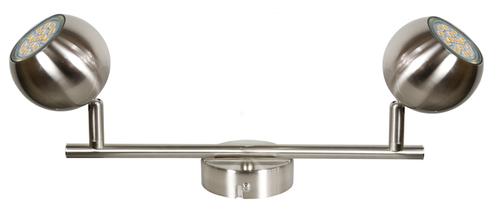 Banda de lampă Balt 2 X Max 50W Gu10 Satin fără becuri
