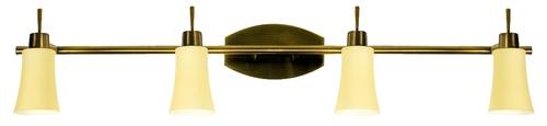 Lampă Kroton Strip 4X40W G9 Patina