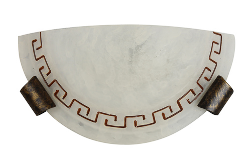 Lampă Plafond 130 Sv. Antik 1/2 4875-3826 1X60W E27