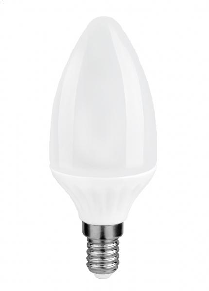 Bec LED Candle C37 E14 6.5W 3000K