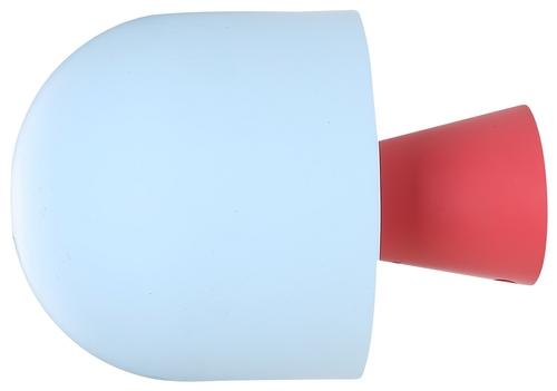 Lampă de perete Visby 1 Albastru Roșu