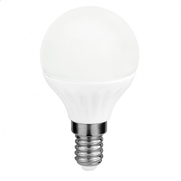 Sursa de lumină LED G45 4W E14 3000K