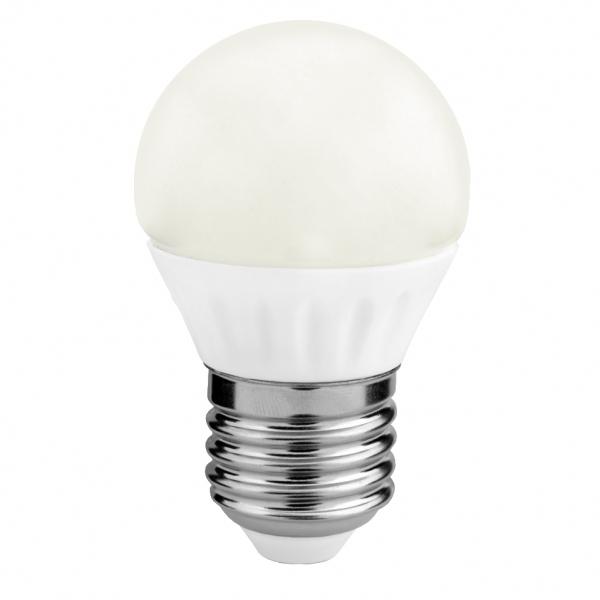 Sursa de lumină LED G45 4W E27 3000K
