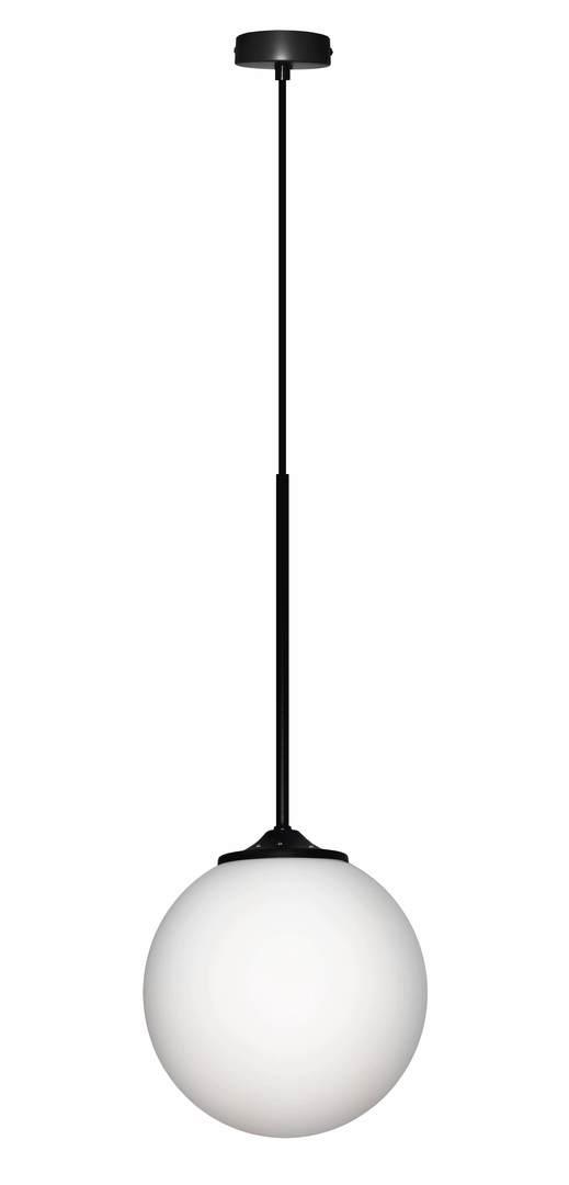 Lampă suspendată Glasgow Iii 1 Negru 90X20X20