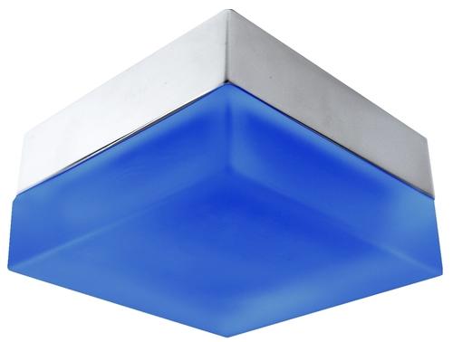 Sh-03 Sn + B Mr16 nichel satinat + albastru Binding Herm Ip44