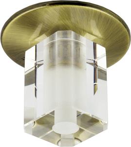 Sk-17 Gab G4 Patina Flush Plafon Fixed Crystal G4 20W small 0