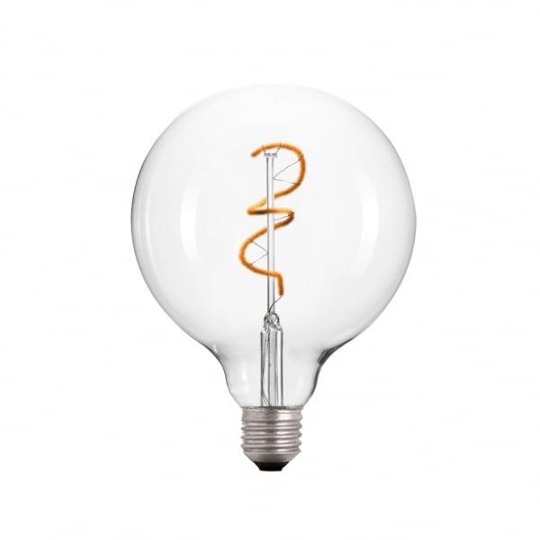 Bec decorativ cu LED în spirală E27 3.5W 2000k 230V