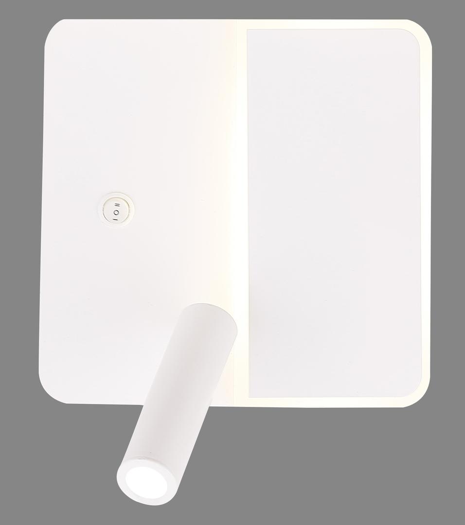 Lampă Alma perete 6W + 3W Led alb