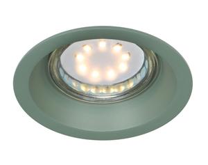 Sa-12 Gr Gu10 Max 35W 230V Lampă de tavan cu ochiuri Culoare verde aluminiu small 0
