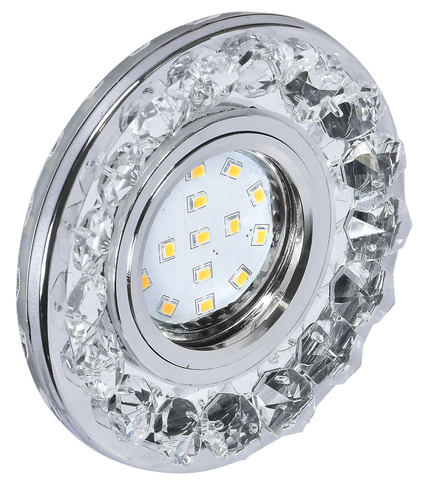 Fiting de tavan Sk-94 Gu-10 35W Chrome Incolor