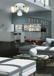 Plafoniera Zumba Plafond 3X40W E14 Alb + Negru small 1