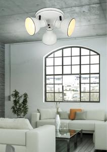 Plafoniera Zumba Plafond 3X40W E14 Alb + Negru small 2