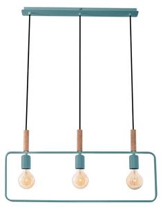 Lampă suspendată cadru 3X60W E27 Mint small 0