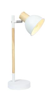 Lampă pentru dulap Bondo 1X40W E14 alb și lemn small 0