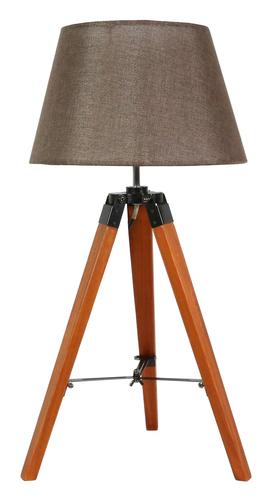 Lampă Lugano Cabinet 1x60W E27 Maro + Abajur Același Index