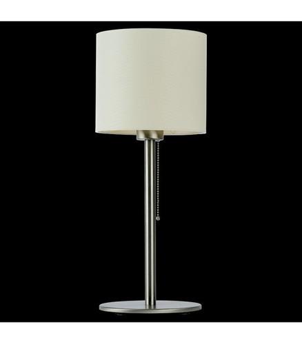 BACH Lampă de birou, nichel / ecru