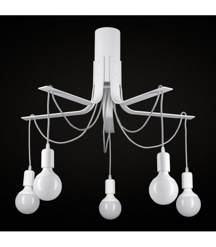 BORNHOLM Lampă mică de plafon albă
