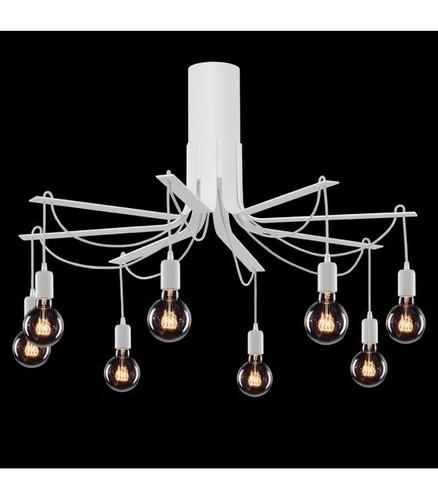 BORNHOLM Lampă mare de plafon albă