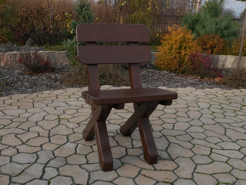 Scaun de lemn
