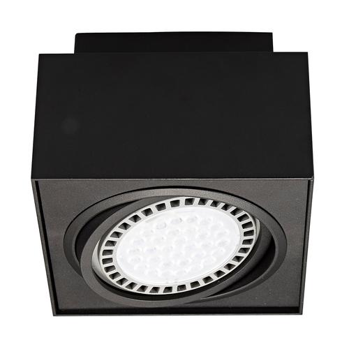 20074 Bk Boxy Cl 1 Spot Negru / Negru