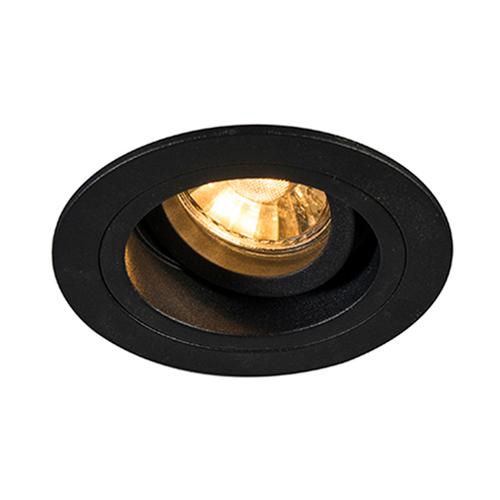 92700 Chuck Dl Spot rotund negru / negru