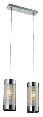 Lampa cu pandantiv dublu glamour Monte