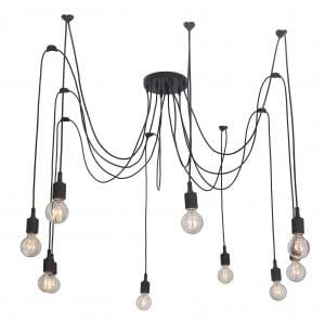Lampa suspendată Soleto Spider 10 umăr Loft small 0