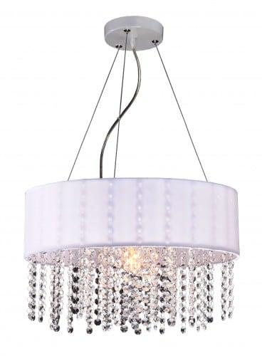 Madrid lampă agățată diamante Glamour alb