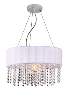 Madrid lampă agățată diamante Glamour alb small 0