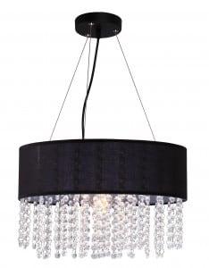 Madrid lampă agățată diamante negre Glamour small 0