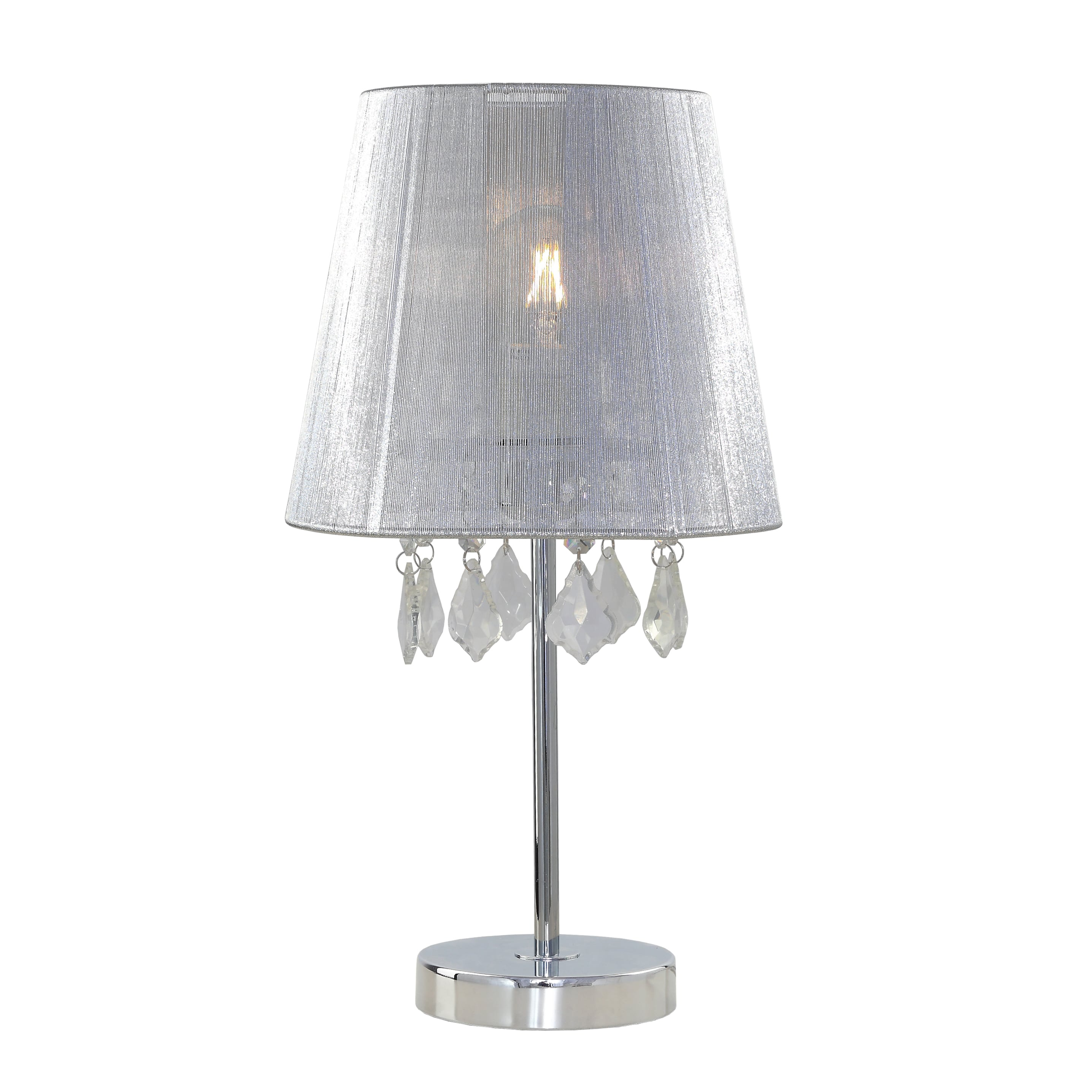 Lampa de birou Glamour mic strălucitor cu diamante