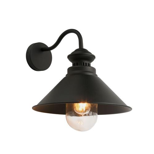 Lampă de perete clasică gri Manesto E27
