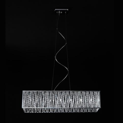 Lampă suspendată modernă Vanessa G9 cu 7 becuri